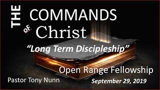 Long-Term Discipleship