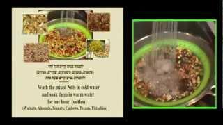 Passover - Making Haroset - איך מכינים חרוסת לפסח