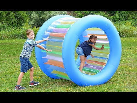 Giant Inflatable Land Wheel available at Sam's Club