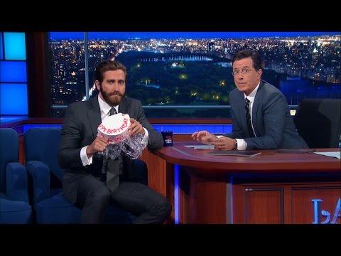 Jake Gyllenhaal Responds To Amy Schumer's Cake Thievery