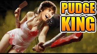 Dendi Pudge Dota 2 - THE KING OF PUDGE