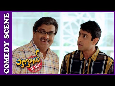Gujjubhai The Great Comedy Scene - Gujjubbhai Solves Customer's Problem –New Gujarati Movie