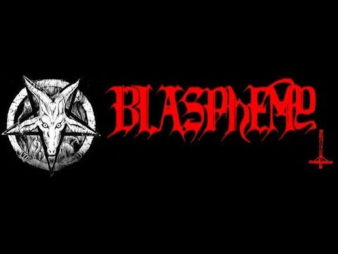 BLASPHEMY  Live Copenhagen 01 04 1993