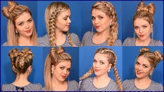 10 Stylish And Easy Hairstyles For Gorgeous Look - Beautiful Hairstyles Compilation 2019