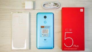 Xiaomi Redmi 5 Plus 4GB 64GB распаковка (Redmi 5 Plus Unboxing)