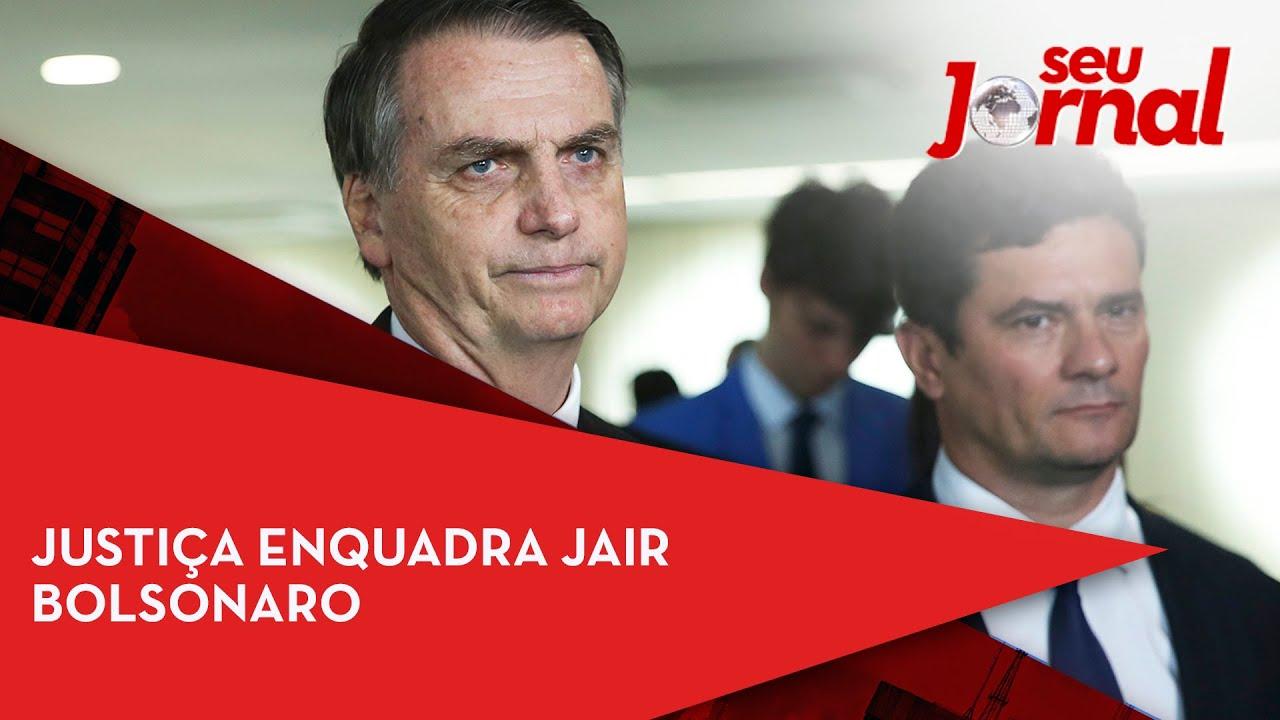 Justiça enquadra Jair Bolsonaro