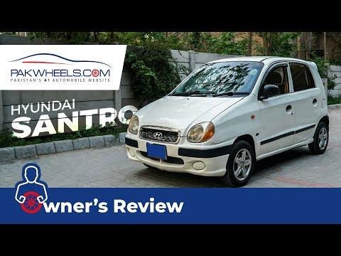 Hyundai Santro 2005 Owner S Review Pakwheels Youtube