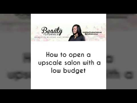 How to open a salon with little money| How to open successful salon