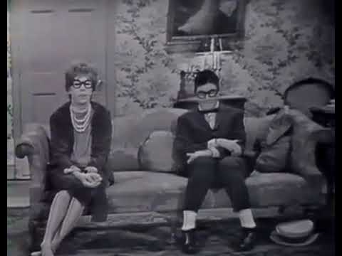 Jerry Lewis and Carol Burnett on The Garry Moore Show '61