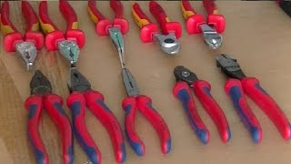KNIPEX синий и KNIPEX жёлтый . В чём разница?(В магазинах встречаются два вида инструмента от Книпекс - жёлто-красный и сине-красный . Какой лучше купить ?, 2014-07-25T20:50:32.000Z)