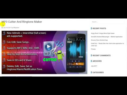 MP3 Cutter And Ringtone Maker free Download