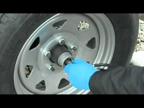 How to Lube EZ Lube Bearings on a Wells Cargo Trailer