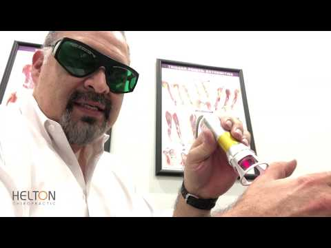 Laser Pain Therapy Demonstration