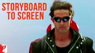 Storyboard to Screen - Dhoom:2   Hrithik Roshan