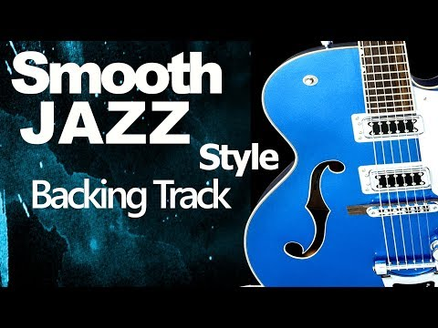 Smooth Jazz Guitar Jam Track 82 Bpm