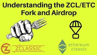 Playing the ZCL Fork and ETC Airdop, Updated Portfolio