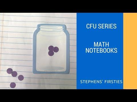CFU series -- Math Notebooking