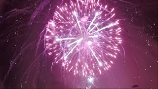 PHENOMENAL Aerial Drone Fireworks Video - LARGEST Fireworks show in FL(DroneVU Studios collaborated with Zambelli Fireworks to create a phenomenal aerial drone fireworks video of the LARGEST fireworks show in Florida for 4th of ..., 2015-07-06T03:03:09.000Z)