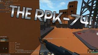 BEST GUN RPK 74 | ROBLOX PHANTOM FORCES