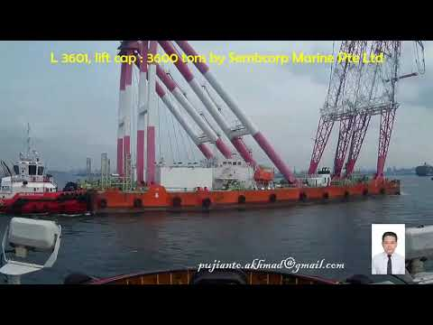 The biggest floating crane in South East Asia, L 3601
