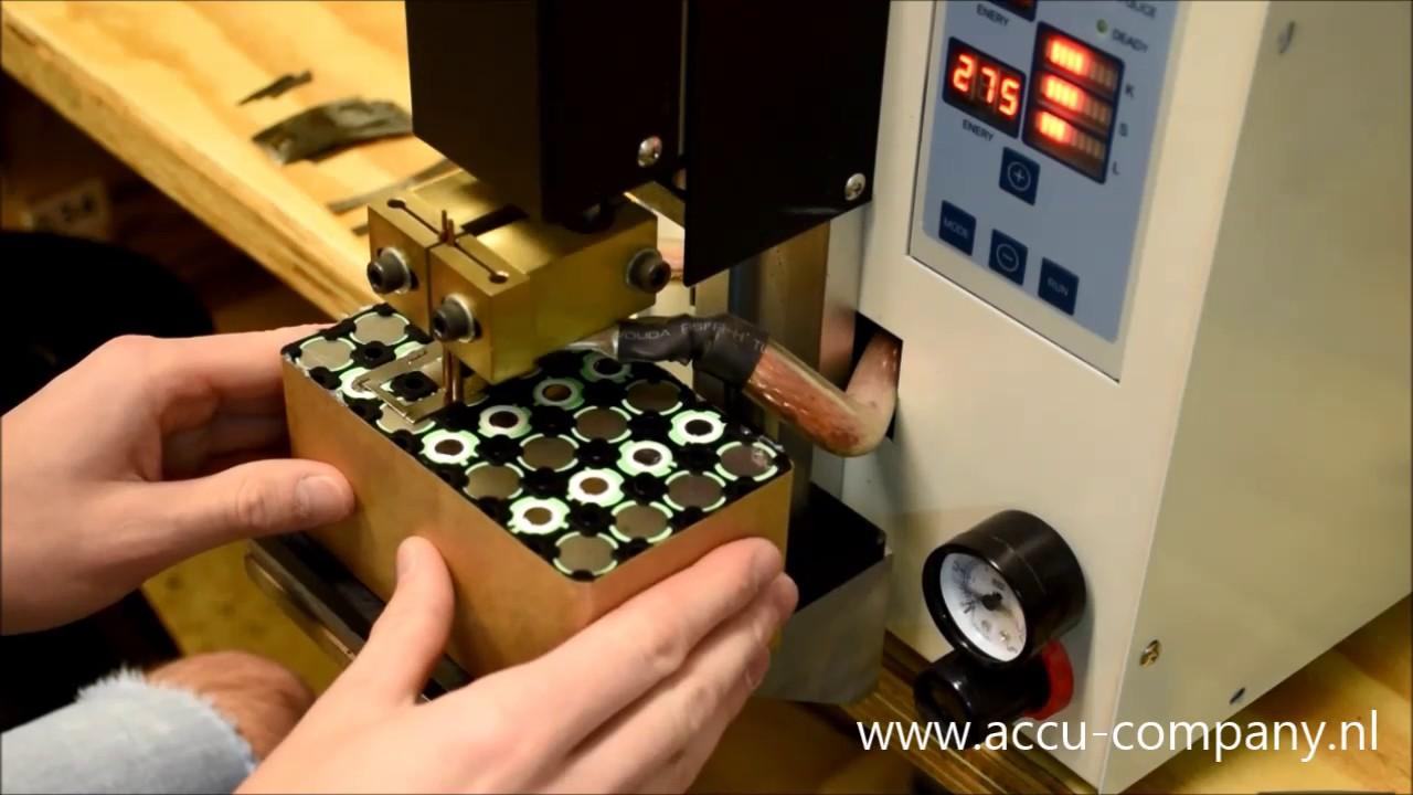 Accucompany Fietsaccu Revisie In Het Kort Battery Welding Youtube