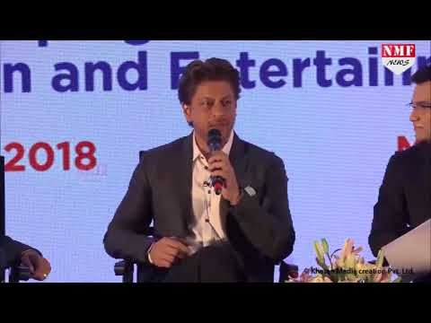 Shah Rukh Khan Interacts With Media At Magnetic Maharashtra