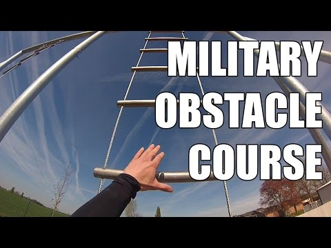 Military Obstacle Course GoPro