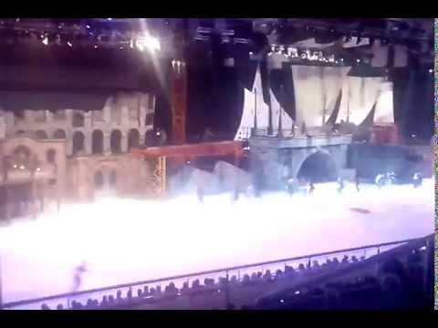 Июль 2015г.  Супер мюзикл. Сочи. Олимпийский парк. Ледовое шоу И.Авербуха