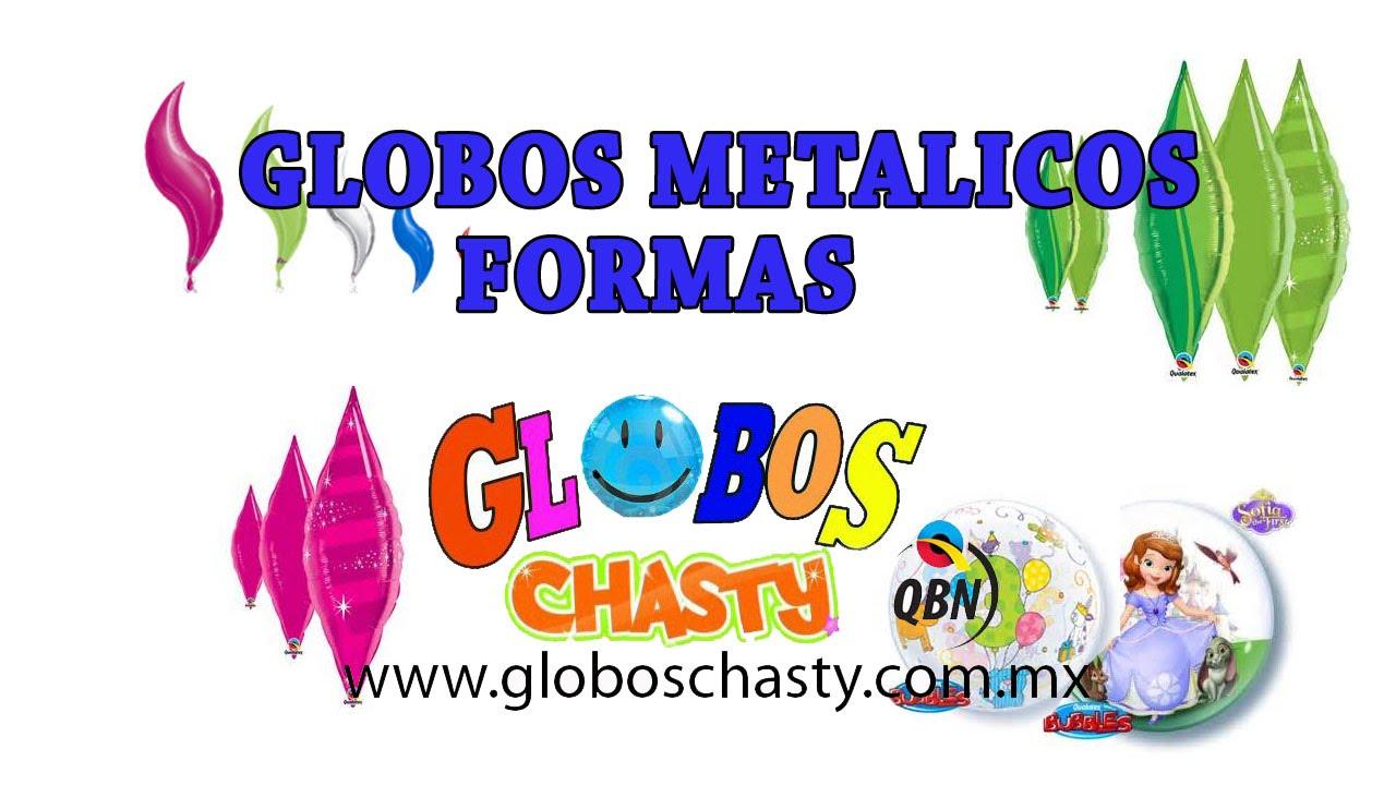 Globos Metalicos Formas Youtube - Globos-con-formas