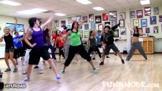 Gambar cover Shots (EXPLICIT) LMFAO, Lil Jon - FUNKMODE Hip Hop Dance Class - September 2010