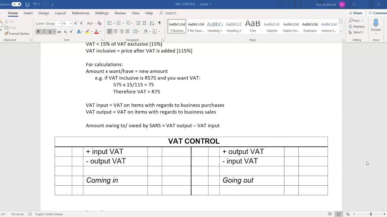 Download Accounting: VAT