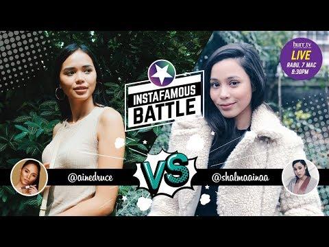 Ain Edruce vs. Shalma Ainaa | Instafamous Battle
