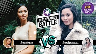 Ain Edruce vs. Shalma Ainaa   Instafamous Battle
