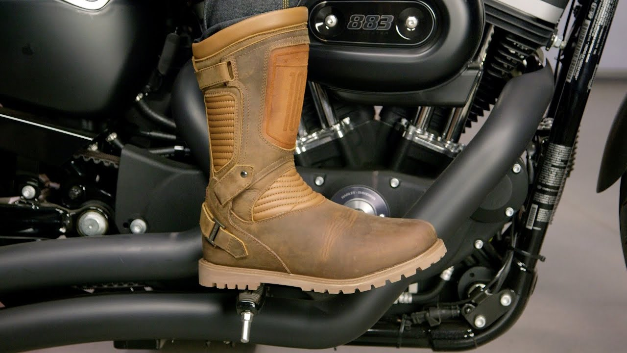 ICON 1000 Prep Boots Review at RevZilla.com