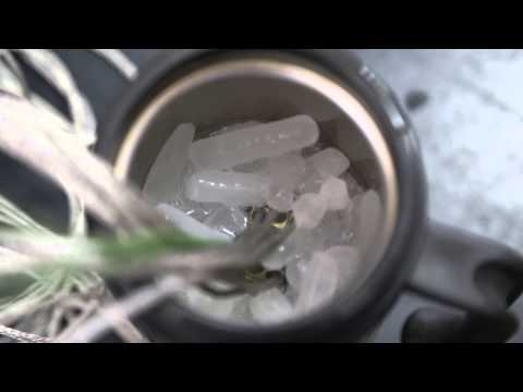 Сухой лед + изопропиловый спирт
