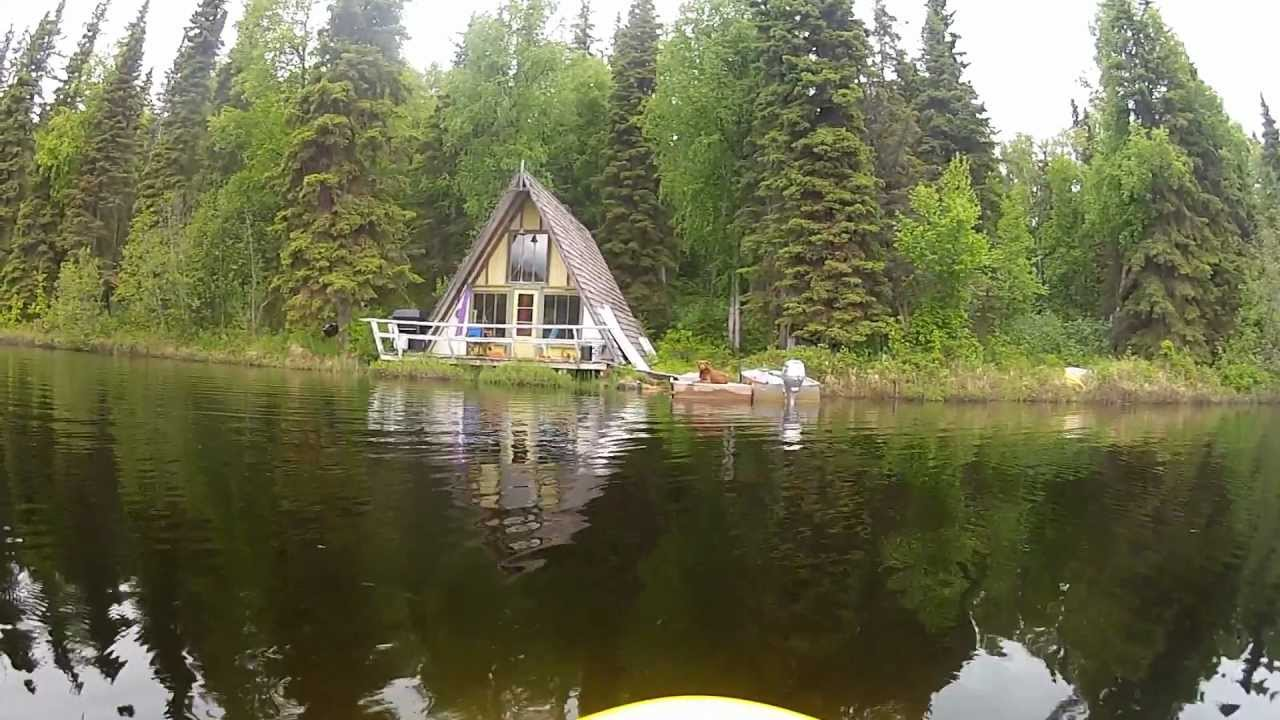 Alaskan cabin by geoff oliver youtube for Alaska cottage