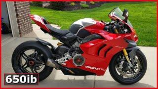 Breaking-In My NEW Ducati V4R 🔥