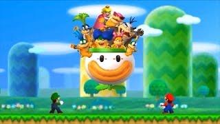 New Super Mario Bros. 2 (3DS) 100% Walkthrough Part 1 - World 1 (All Star Coins & Secret Exits)
