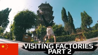 Visiting 4freestyle factories in china vlog part 2