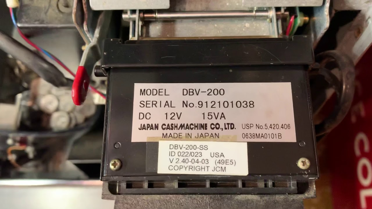 IGT Bill Acceptor Issue