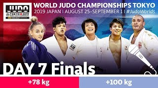 World Judo Championships 2019: Day 7 - Final Block