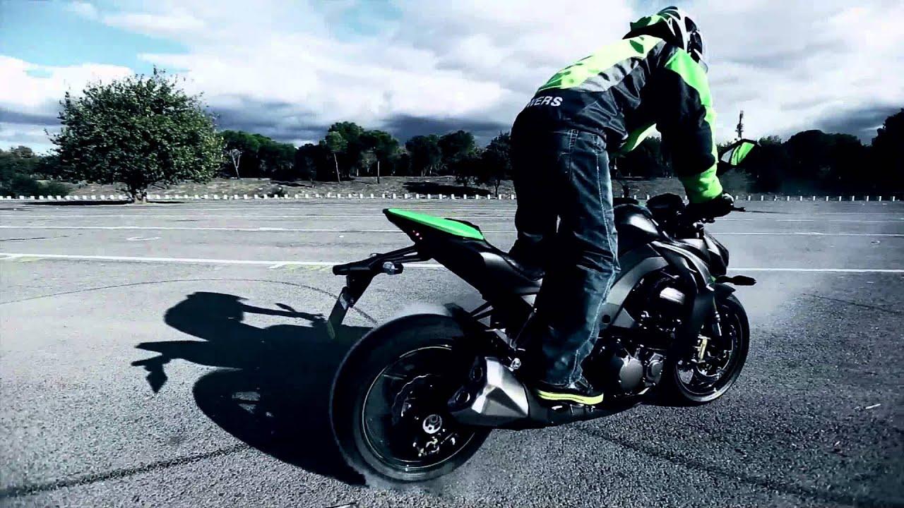 Full Hd Motorcycle Wallpaper Z1000 Bowers Stunt Youtube