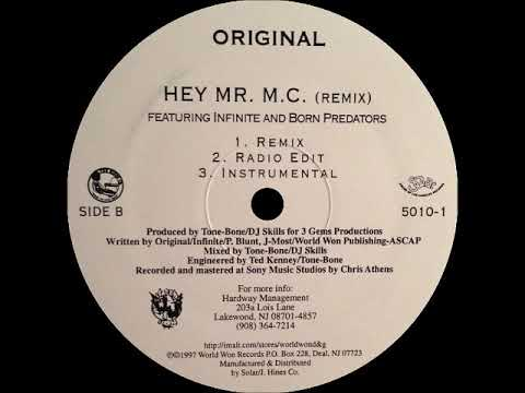 Original - Hey Mr. M.C. (Remix) (Instrumental)