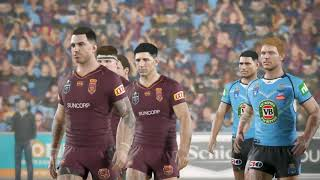 Rugby League Live 4 - Warriors Career - State Of Origin Game 3
