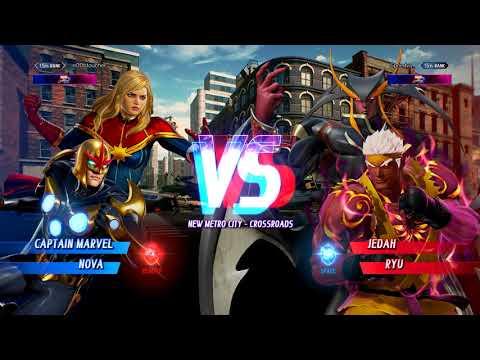 MvC:I Captain Marvel / Nova - Day 1 Ranked Matches