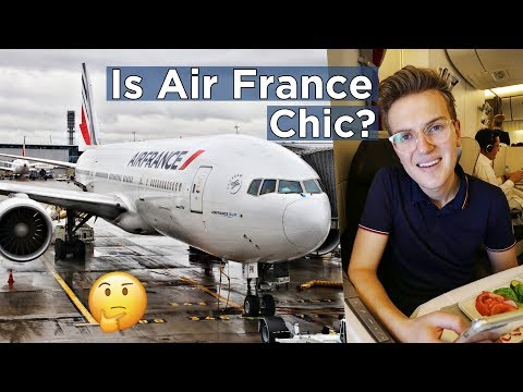 AIR FRANCE BUSINESS CLASS - C'est Chic? Paris to Seoul on 777-200ER