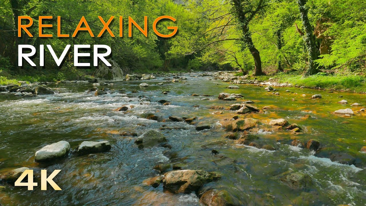 4k Relaxing River Ultra Hd Nature Video Water Stream