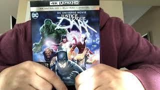 Justice League Dark 4K Ultra HD Blu-Ray Unboxing