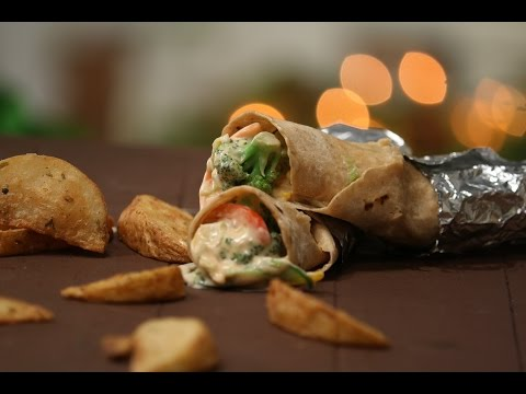 Mixed Vegetable And Mayo Wrap | Tiffin Treats by Roopa Nabar | Sanjeev Kapoor Khazana