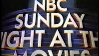 The Natural 1988 NBC Sunday Night At The Movies Intro